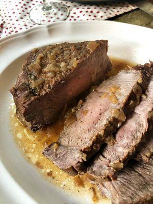 Instant Pot sirloin tip roast