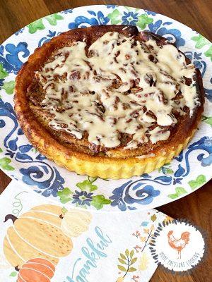 Praline Pie in the Ninja Foodi Air Fryer
