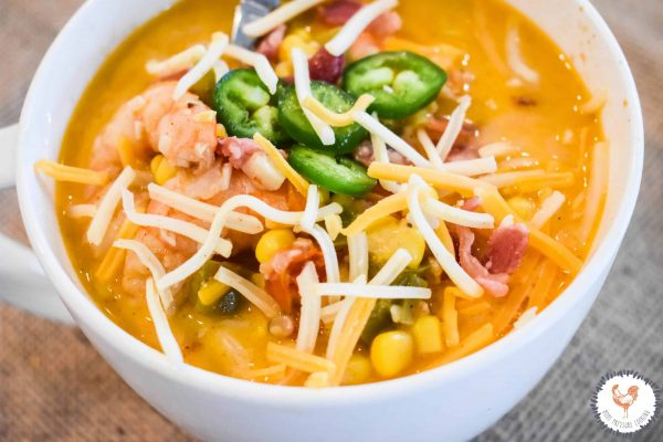 Shrimp and Corn Chowder in the Instant Pot JENRON DESIGNS