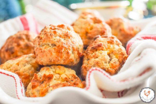 Fresh-Baked-Air-Fryer-Sausage-Balls-Jenron-Designs-
