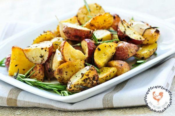 Ninja Foodi grill potatoes