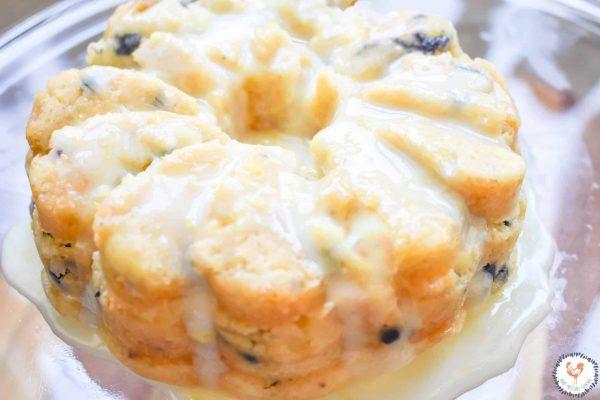 Instant Pot Lemon Blueberry Cheesecake Bundt JENRON DESIGNS