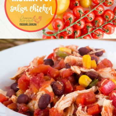Salsa Chicken made in the Instant Pot