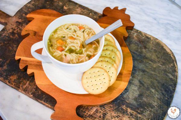 Homemade Chicken Noodle Soup JENRON DESIGNS