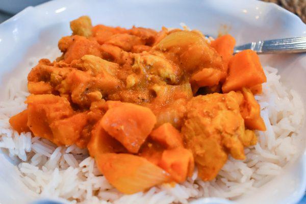Instant Pot Coconut Chicken Curry JENRON DESIGNS
