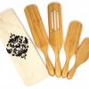 A set of original HPC Bamboo Spurtles.