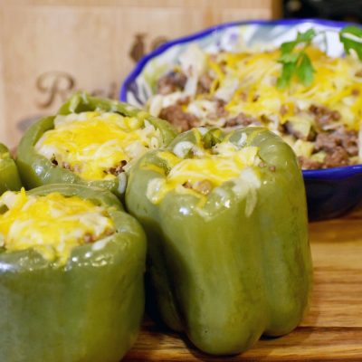 Yummy Stuffed Bell Peppers