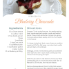 A recipe for Blueberry Cheesecake made in a pressure cooker.