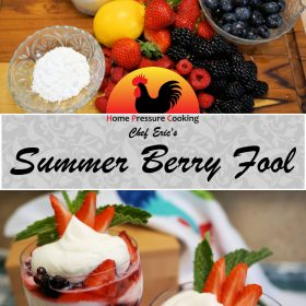 Summer Berry Fool