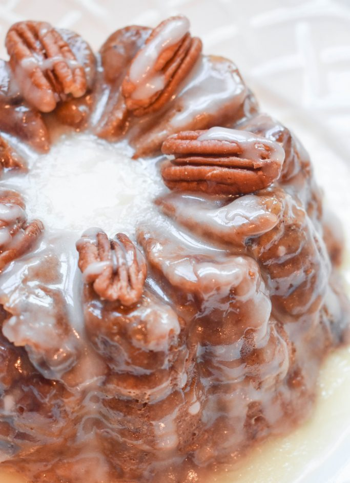 Cinnamon Raisin Bread made in the HPC bundtlette pan.
