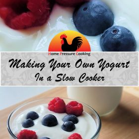 making your own yogurt in the slow cooker recipe image
